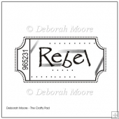 Rebel Digital Stamp/Sentiment