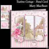 Teatime Cottage - Panel Card