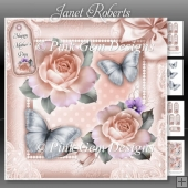 Mothers Day Roses Pink Mini Kit