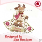 Reindeer Rocker Card