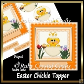 Easter Chickie Topper