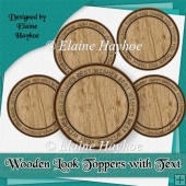 Wooden Look Toppers
