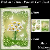 Fresh as a Daisy - Pyramid Card Front