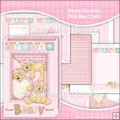 Beary Special Pink Box Card