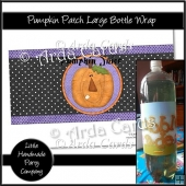 Pumpkin Patch Large Bottle Wrap