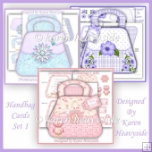 Handbag Cards Set 1