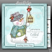 Snowmen Warm The Heart Mini Kit