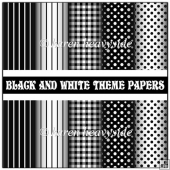 Black And White Papers