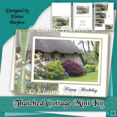 Thatched Cottage Birthday Mini Kit