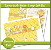 Eggtastically Yellow Large Gift Box