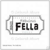 Fabulous Fella Digital Stamp/Sentiment