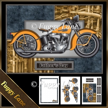 Classic Motorcycle A5 Mini Kit