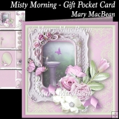Misty Morning - Gift Pocket Card