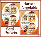 Harvest Vegetable Seed Packets Set