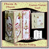 Cameo Corner Card - Have a Hoot