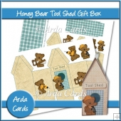 Honey Bear Tool Shed Gift Box