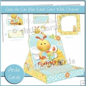 Cute As Can Bee Easel Card With Drawer