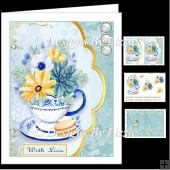Teacup Flowers Mini Kit 1