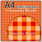 ref1_bp461 - Orange Checks, Gingham & Tartan
