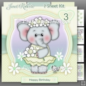 Daisy Ella Elephant Lemon Mini Kit With Ages 1 to 6