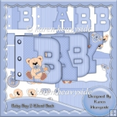 Baby Boy 2 Word Book