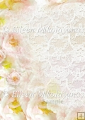 Roses and Lace Backing Background Paper
