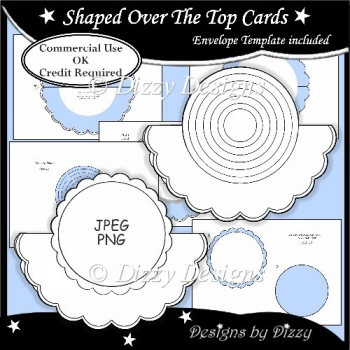 Shaped Over The Top Cards