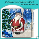 Christmas Eve Shadowbox Card