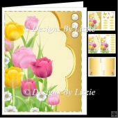 Spring Flowers Mixed Tulips Mini Kit