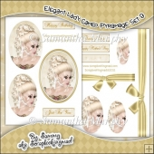 Elegant Lady Cameo Pyramage Set 9