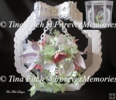 Full 3D hanging Basket card & Box, TF0200, CAMEO CRICUT SVG SCAL
