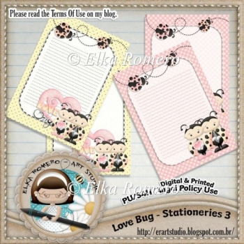 Love Bug - Stationeries 3