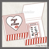 Matchbook Voucher Valentines