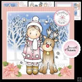 Chloe and Reindeer Mini Kit