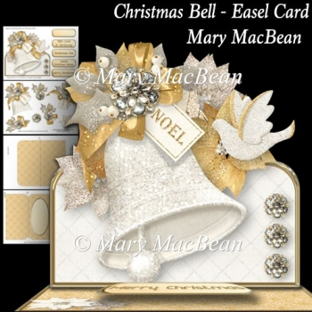 Christmas Bell - Easel Card