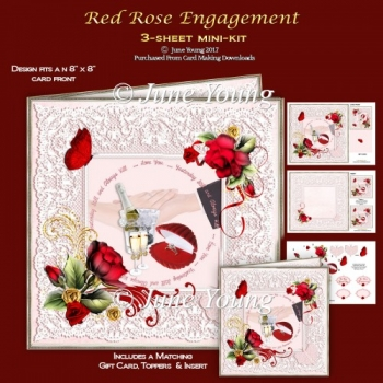 Red Rose Engagement