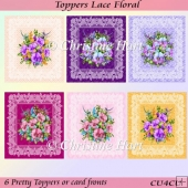 Toppers Lace Floral