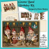 The Gnome Band Birthday Card Kit