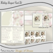 Wedding Bouquet Card Kit