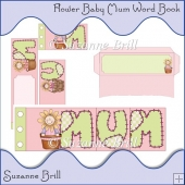 Flower Baby Mum Word Book