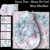 Snowy Trees - Money Pot Card
