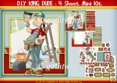 King Of DIY Dude 4 Sheet Mini Kit
