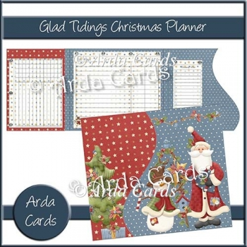 Glad Tidings Christmas Planner
