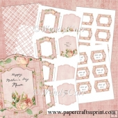 RTP Shabby Chic - Floral Frames 2(Retiring in August)