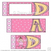 Daddy's Lil Girl Fathers Day Word Book Set