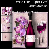 Wine Time - Offset Card