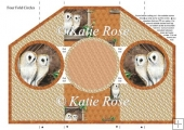 "Four Fold Meadow's Edge ""Barn Owls"""