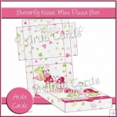 Butterfly Kisses Mini Pizza Box