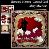 Romantic Moment Layered Card