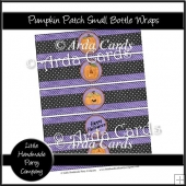 Pumpkin Patch Small Bottle Wraps